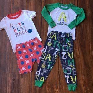 2 Sets Gymboree Pajamas